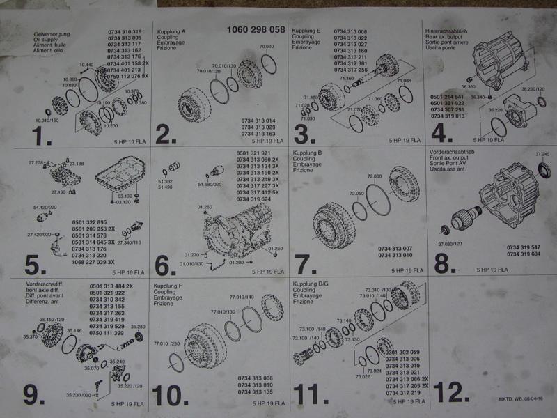 Схема по ремонту zf 5hp19